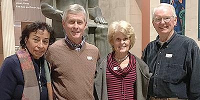 Senior adults from Bryn Mawr Presbyterian Church visit local attractions in the Philadelphia
