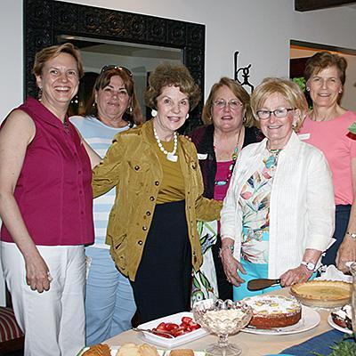 Presbyterian women gather for fellowship and discussion about spiritual topics